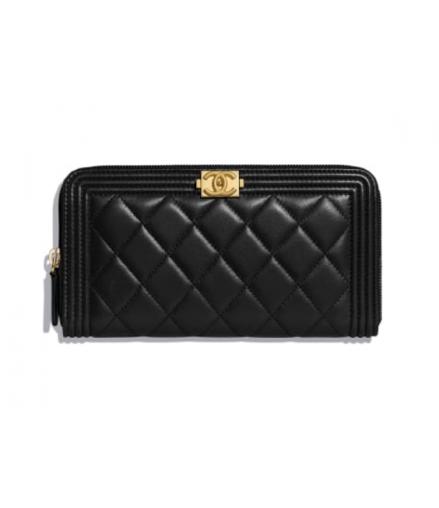 ad87579f134d7 Chanel boy wallet