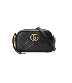 Gucci Marmont Matelasse Shoulder Bag