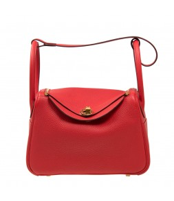Hermes Lindy 26 Rouge Tomate